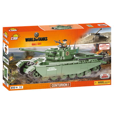 Конструктор COBI World Of Tanks Центурион