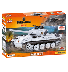 Конструктор COBI Word Of Tanks Пантера, 450  деталей