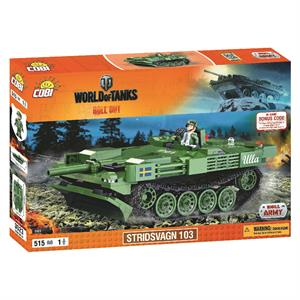 Конструктор COBI World Of Tanks Stridsvagn 103 (Strv.103), 515 деталей