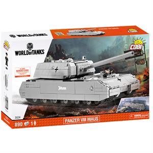 Конструктор COBI World Of Tanks Maus, 890 деталей