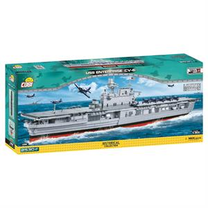 Конструктор COBI World Of Warships Авианосец Энтерпрайз CV-6 (Limited Edition), 2530 деталей