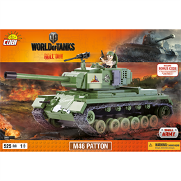 Конструктор COBI World Of Tanks М46 Паттон