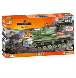 Конструктор COBI Word Of Tanks ИС-2, 560  деталей