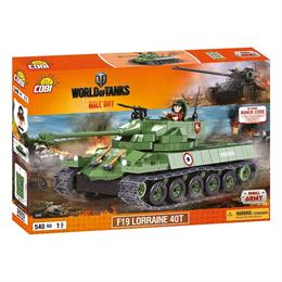 Конструктор COBI World Of Tanks F19 Лоррейн 40T, 540 деталей