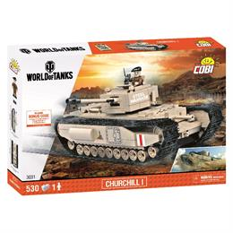Конструктор COBI World Of Tanks Mk IV, Черчиль I, 530 деталей