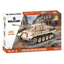 Конструктор COBI World Of Tanks Пантера, 510  деталей
