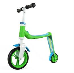 Самокат Scoot and Ride серии Highwaybaby зелено-синий, до 3 лет/20кг